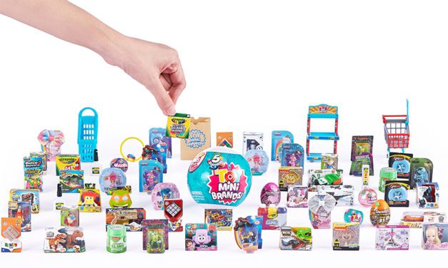 ZURU Lines Up Crayola, Nickelodeon, Wham-O, and More for Toy Mini Brands