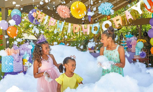 Little Tikes' Foamo Foam Machine Brings the Party Anywhere