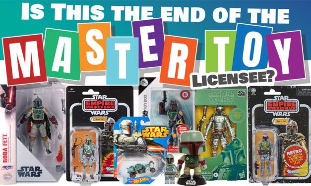 Is this the End of the Master Toy Licensee?