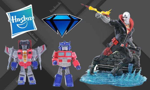 Diamond Select, Hasbro Partner for Collectibles featuring G.I. Joe, Jem and the Holograms, Transformers, and More