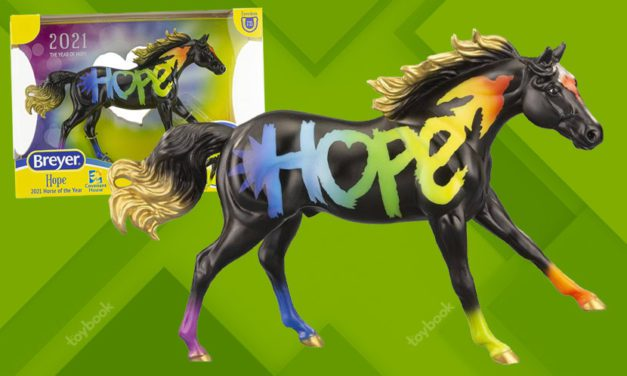 Breyer Introduces 2021 Freedom Series Horse of the Year: Hope