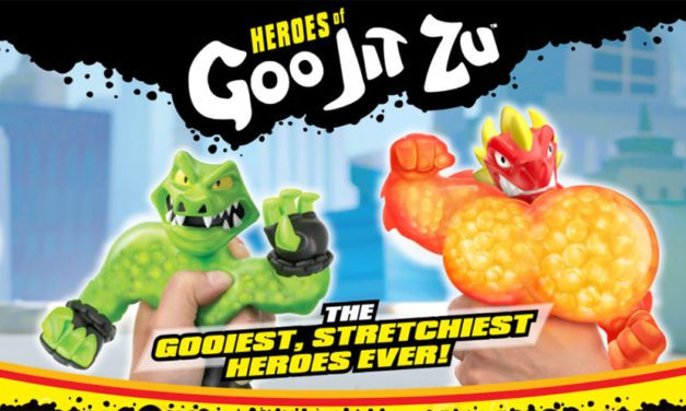 Moose Toys Teams Up with The Licensing Shop for Heroes of Goo Jit Zu Licensing Program