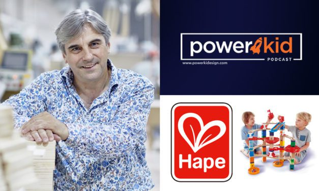 Discussing the Future of Classic Play with Hape CEO Peter Handstein on the 'Power Kid Podcast'