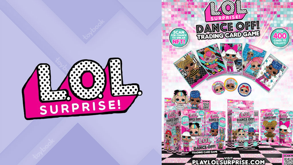 MGA Entertainment Launches L.O.L. Surprise Trading Card Game